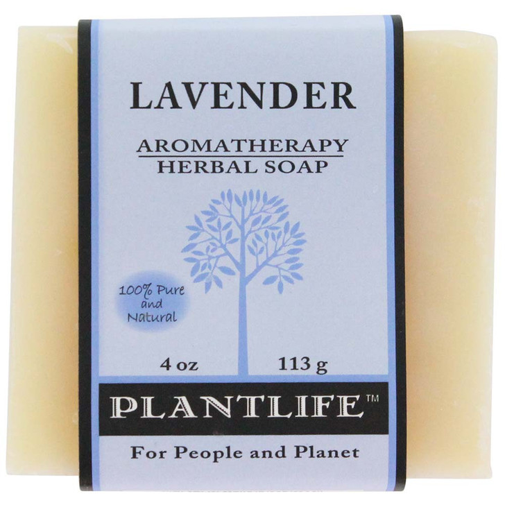 Plantlife Aromatherapy Herbal Soap - Lavender