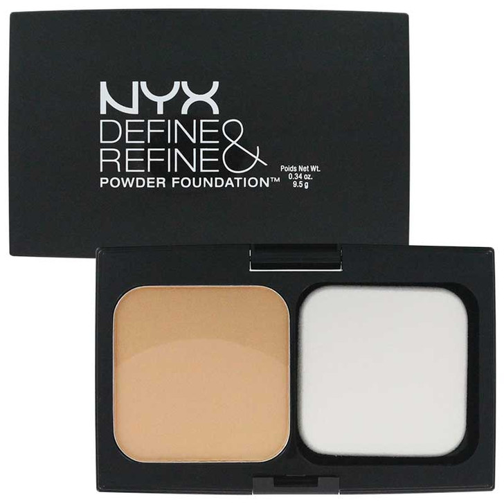 NYX Define & Refine Powder Foundation - Golden