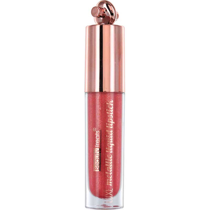 Beauty Treats Luxe Metallic Liquid Lipstick - Fire Opal 03