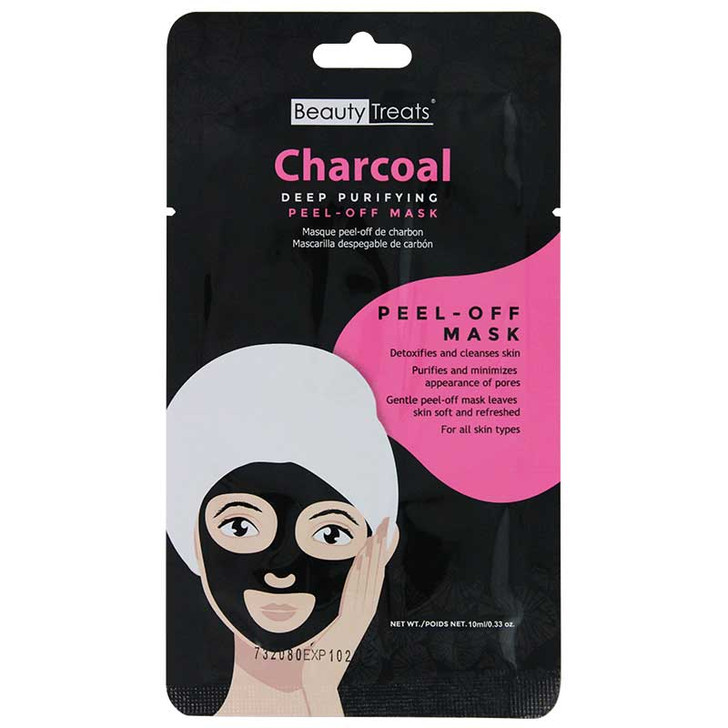 Beauty Treats Peel-Off Charcoal Facial Mask