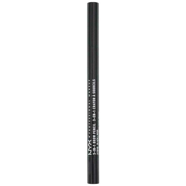 NYX 3-In-1 Brow Pencil - Black