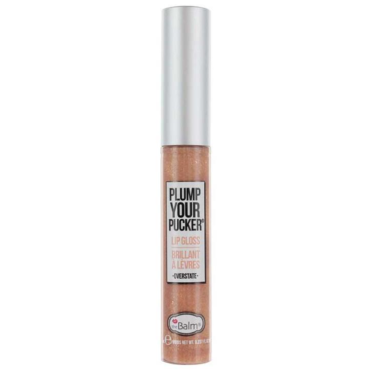 theBalm Plump Your Pucker Lip Gloss - Overstate