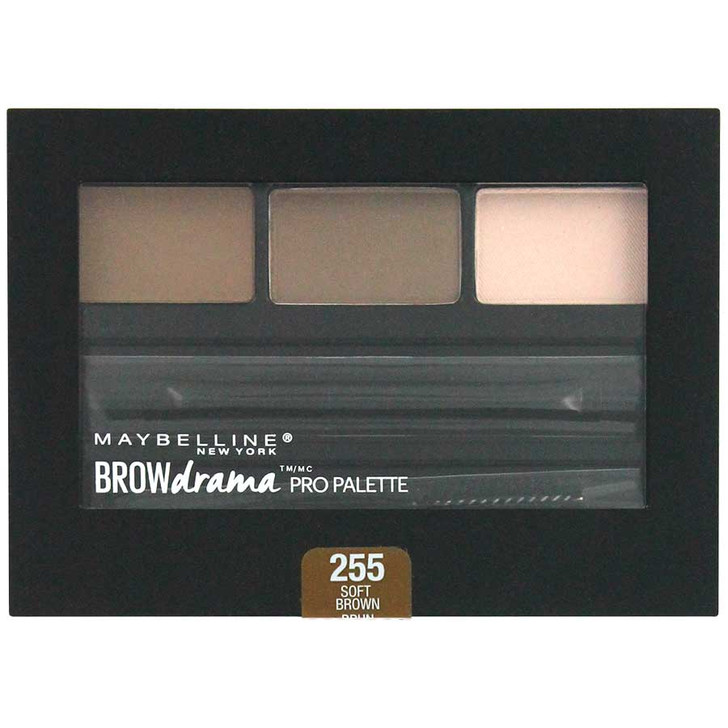 Maybelline Brow Drama Pro Palette - Soft Brown 255
