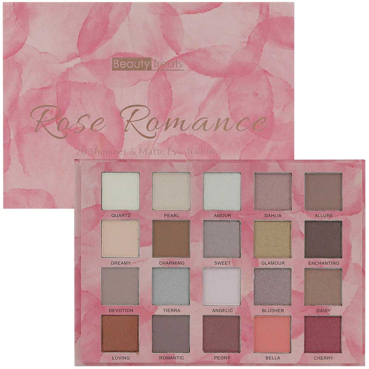 Beauty Treats Rose Romance Eyeshadow Booklet