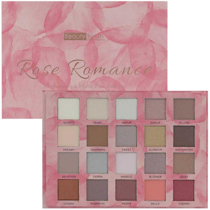 Beauty Treats Rose Romance Eyeshadow Booklet