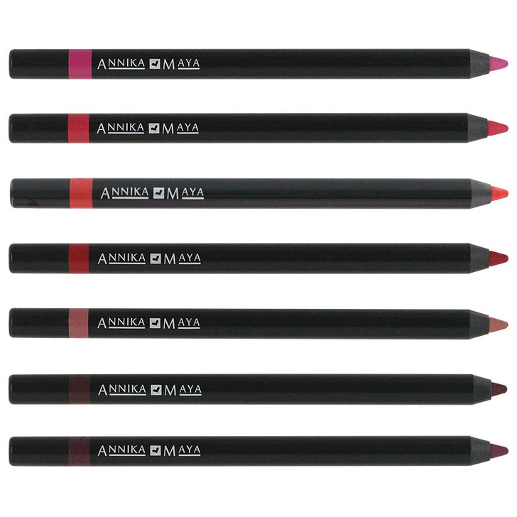 Annika Maya Waterproof Gel Lip Liner