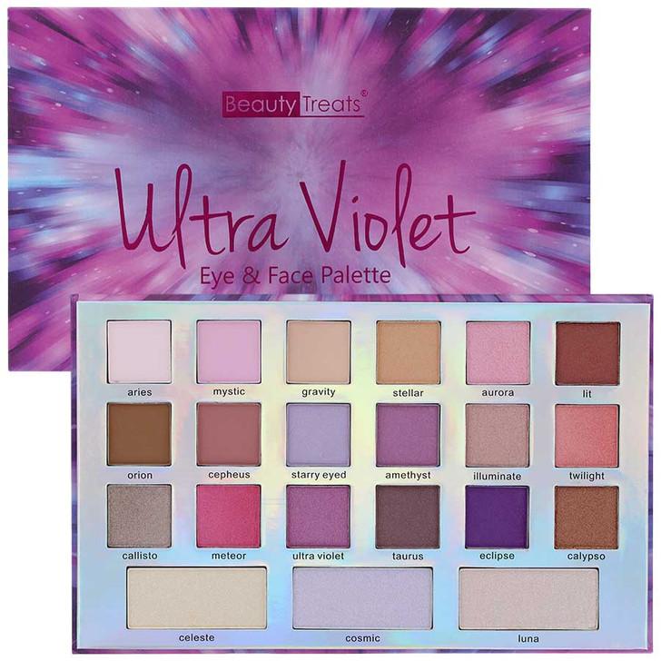 Beauty Treats Ultra Violet Eye & Face Palette