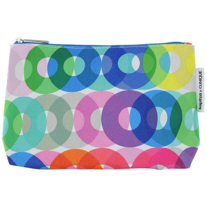 Clinique Kapitza x Cosmetic Bag - Colorful O's