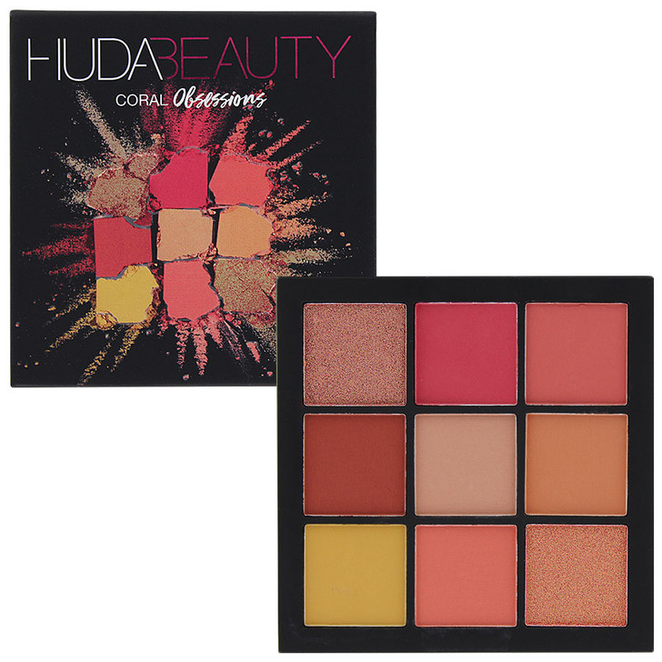 Huda Beauty Obsessions Eyeshadow Palette - Coral