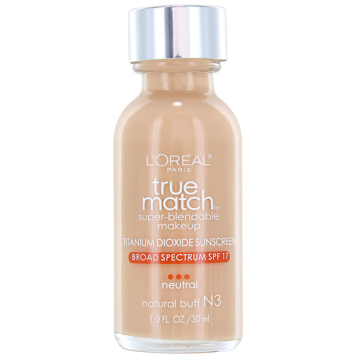 Loreal True Match Super-Blendable Makeup - N3 Natural Buff
