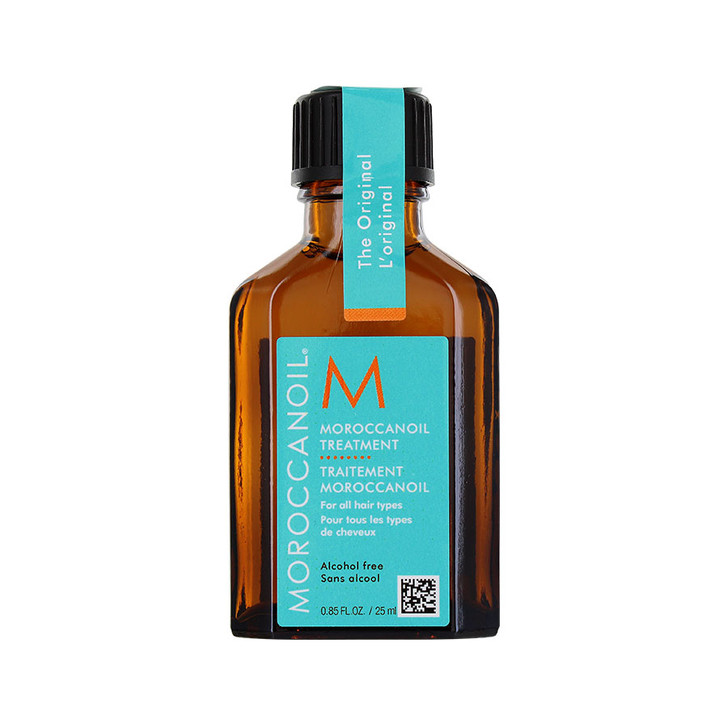 Moroccanoil Treatment Original - Travel Size Uses: Conditioner, styling aide, finishing treatment. Contains Argan Oil and vitamins to condition and protect. Detangles, boosts shine and nourishes hair for more manageable locks. Award winning oil-infused hair treatment. For all hair types.