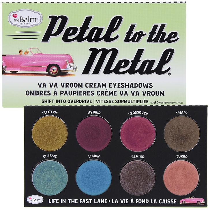 theBalm Petal to the Metal Va Va Vroom Cream Eyeshadow Palette - Shift Into Overdrive
