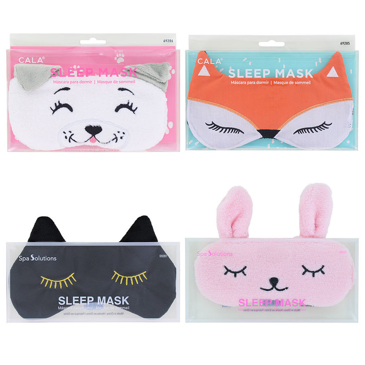 Cala Plush Sleep Masks