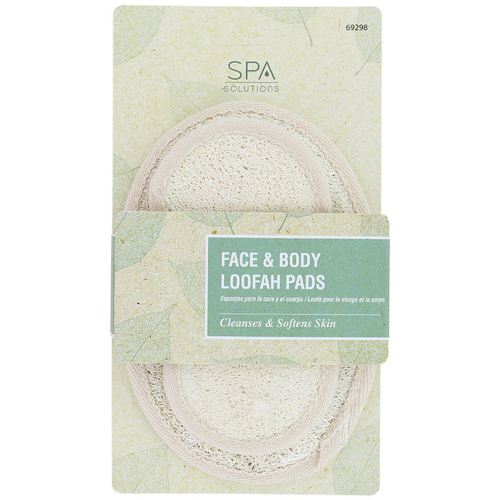 Cala Spa Solutions Face & Body Loofah Pads