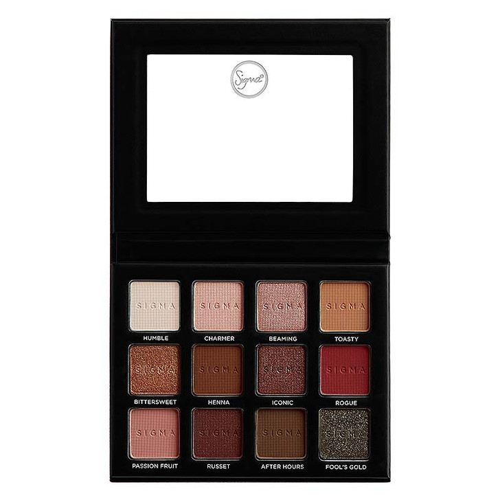 Sigma Warm Neutrals Eyeshadow Palette Volume 2