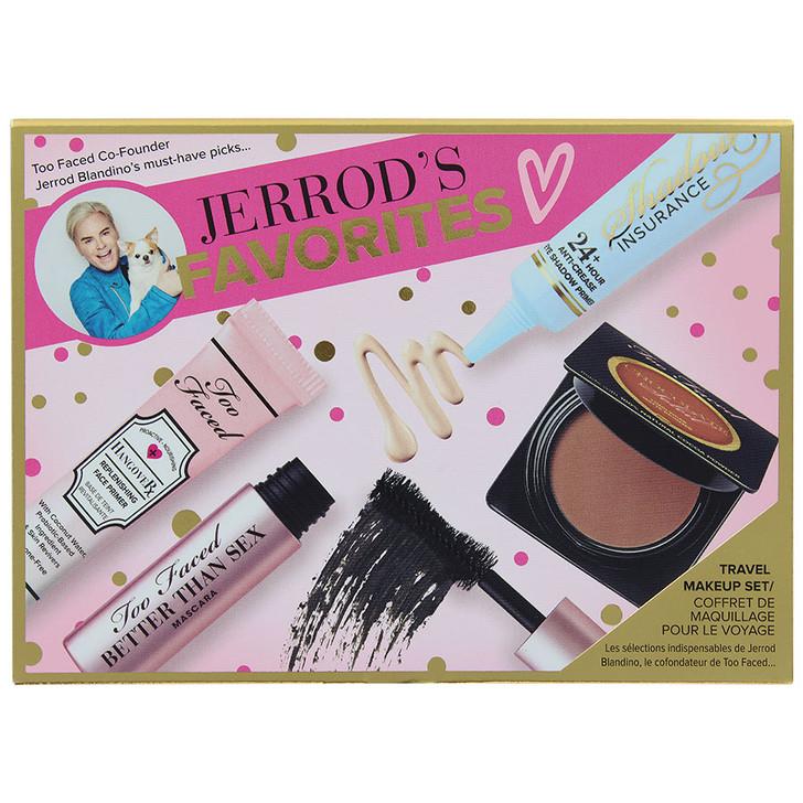 Too Faced Jerrod's Favorites Travel Makeup Set