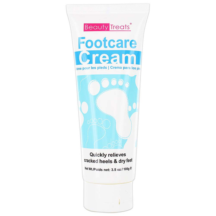 Beauty Treats Footcare Cream with eucalyptus.