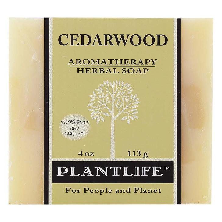 Plantlife Aromatherapy Herbal Soap - Cedarwood