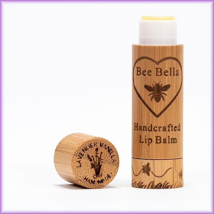 Bee Bella Lip Balm in Lavender and Vanilla