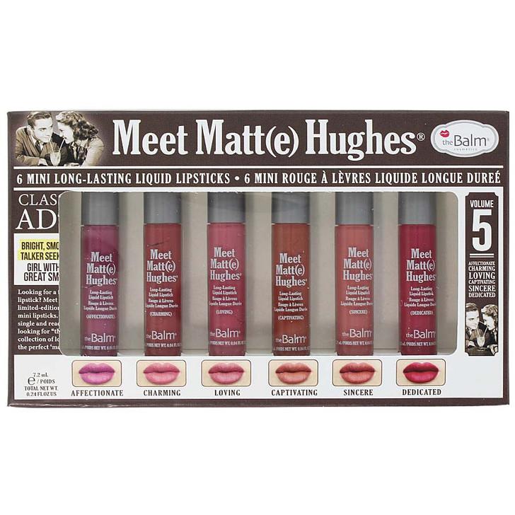 theBalm Meet Matt(e) Hughes 6 Mini Liquid Lipsticks - Vol. 5