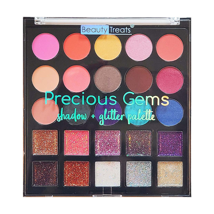 Beauty Treats Precious Gems Shadow + Glitter Palette