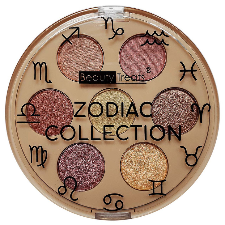The Zodiac Collection features 7 coordinating shades in lustre and shimmer formulas.