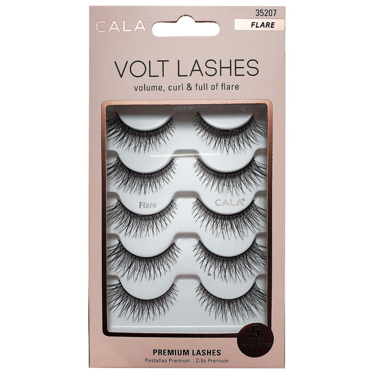 Cala Faux Mink Volt Lashes  are cruelty-free and available in several styles.