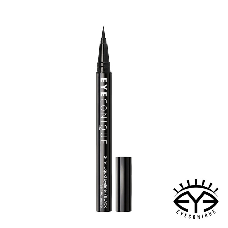 Eyeconique 2-in-1 Adhesive Liquid Eyeliner