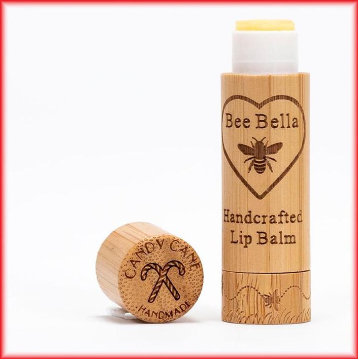Bee Bella Lip Balm - Candy Cane