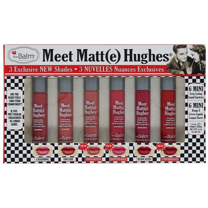 theBalm Meet Matt(e) Hughes 6 Mini Liquid Lipsticks - Vol. 14