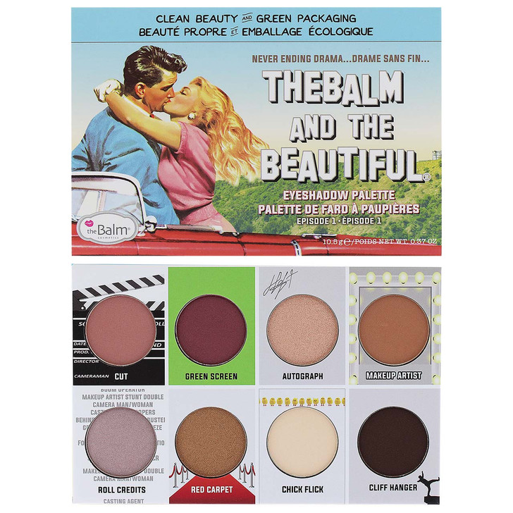 theBalm and the Beautiful Eye Shadow Palette - Episode 1 and Episode 2