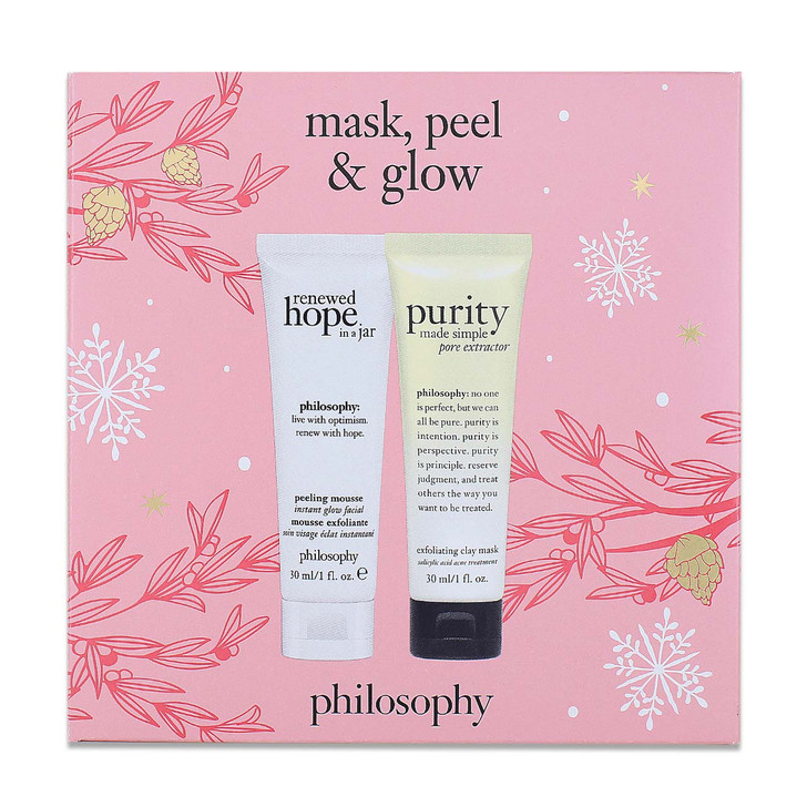 Philosophy Mask ,Peel & Glow Set