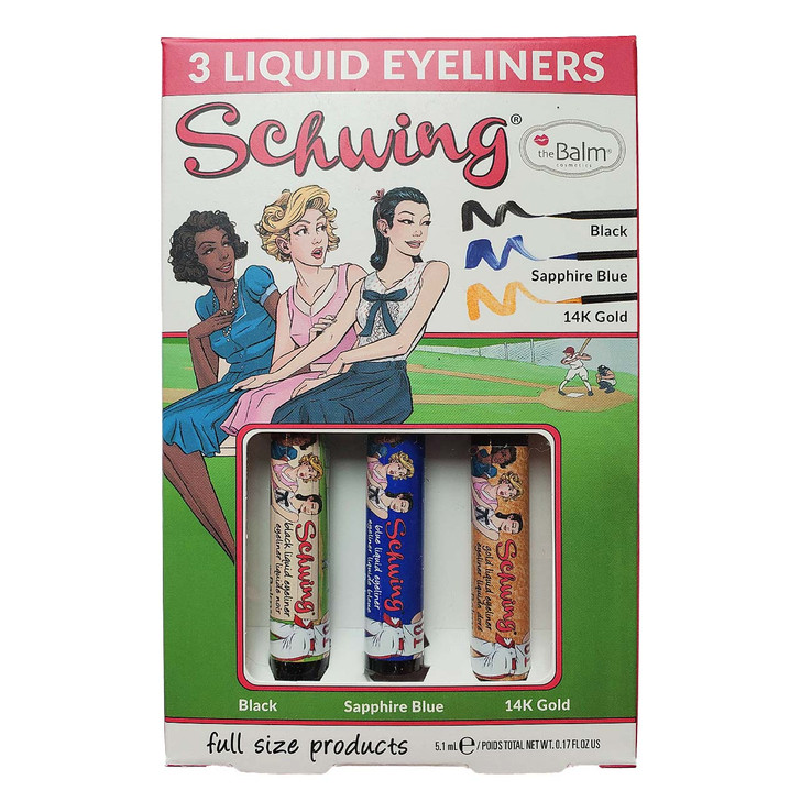 theBalm Schwing Liquid Eyeliner Trio