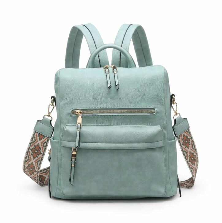 Jen & Co Amelia Convertible Backpack with Guitar Strap