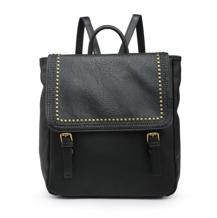 Jen & Co Valerie Flapover Backpack with Grommets