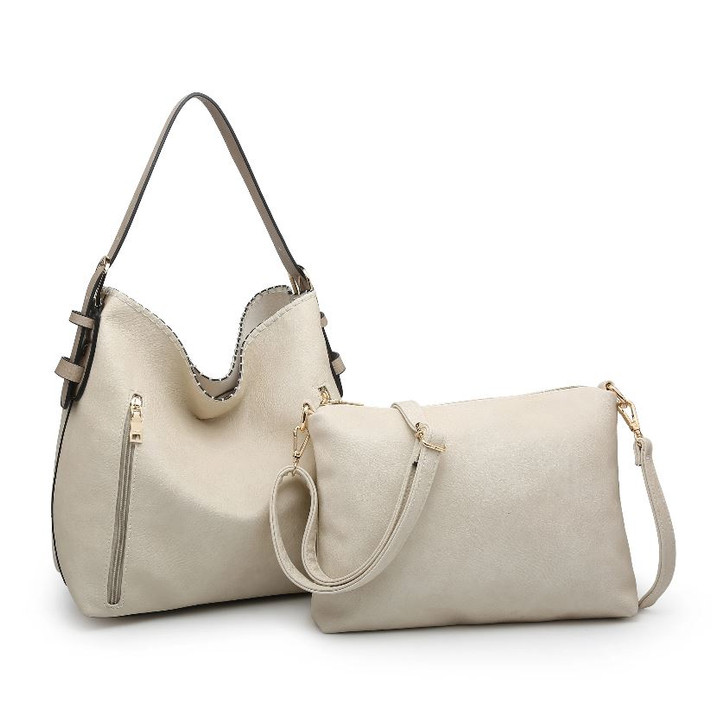 Jen & Co Alexa 2-in-1 Hobo Bag