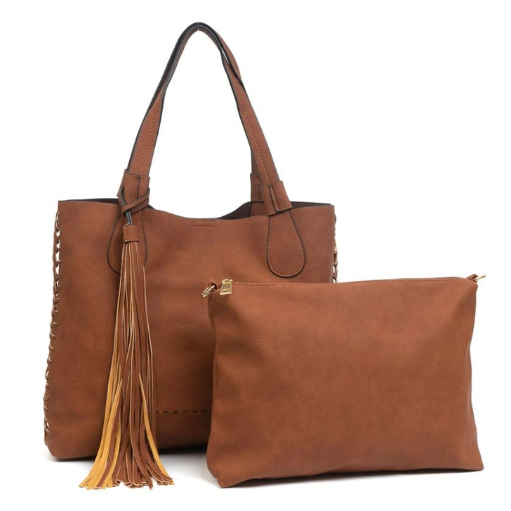 Jen & Co Macy Tote with matching bag