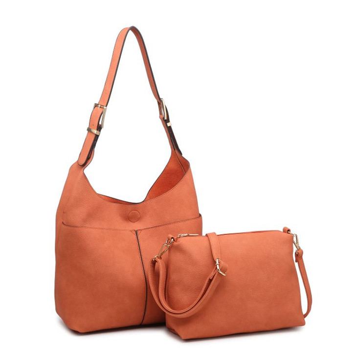 Jen & Co Ida Hobo Bag two in one bag