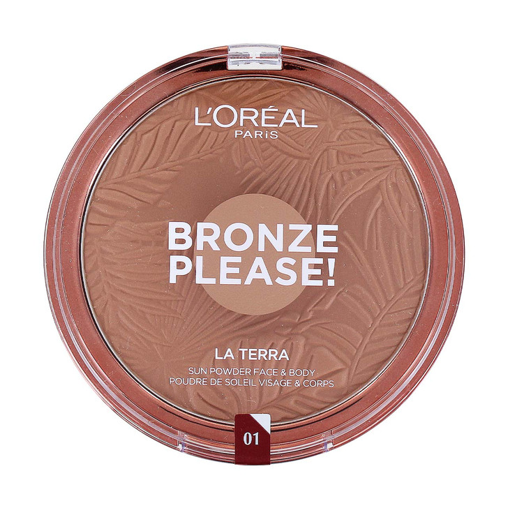 Loreal Bronze Please! Bronzing Powder for Face and Body from the Summer Belle Collection.