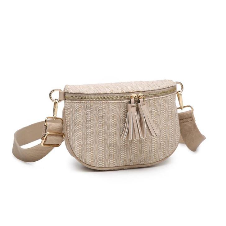 Jen & Co Baye Belt Bag with Tassel Zip