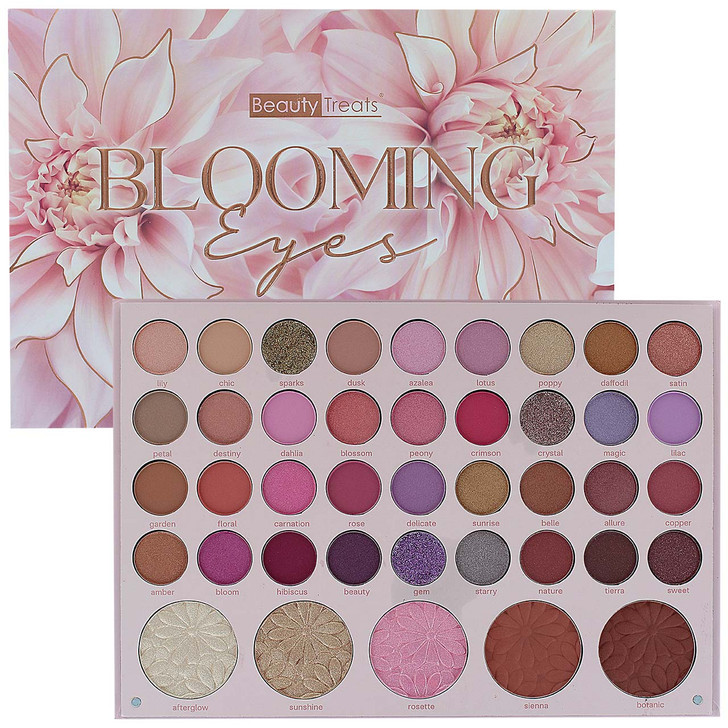 Beauty Treats Blooming Eyes Shadow & Face Palette