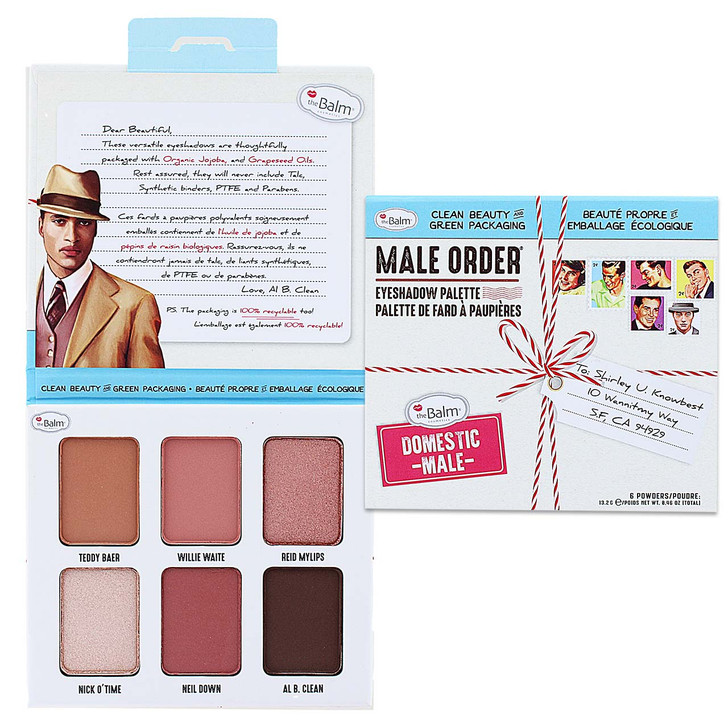 theBalm Male Order Eyeshadow Palette Domestic