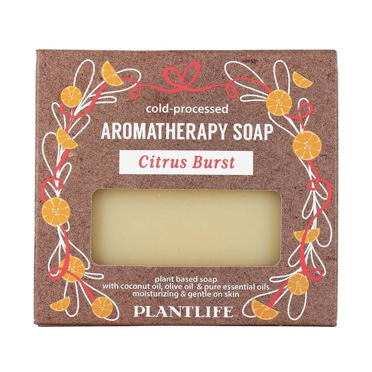 Plantlife Cold-Pressed Aromatherapy Soap - Citrus Burst