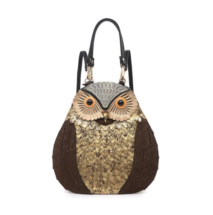 Jen & Co Owl Backpack