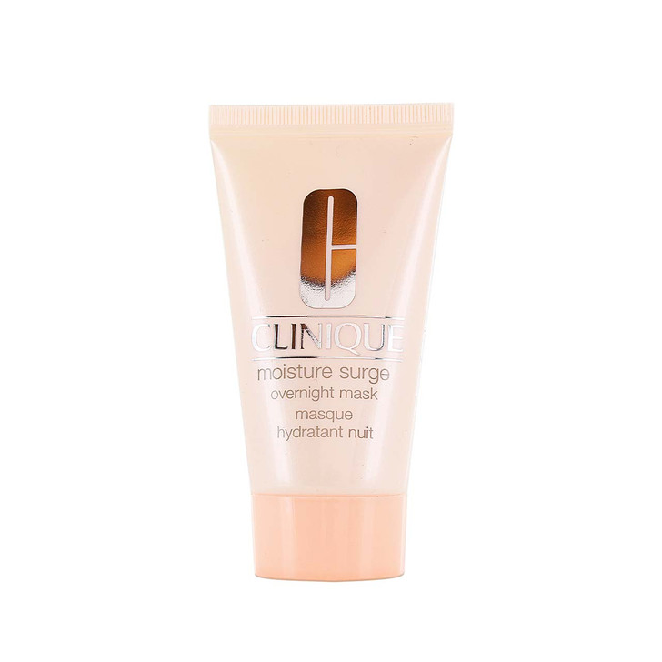 Creamy, oil-free night mask penetrates skin to replenish lost moisture while you sleep,