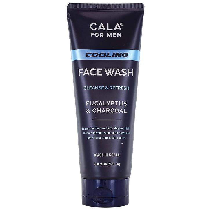 Cala for Men Cooling Face Wash - Eucalyptus & Charcoal