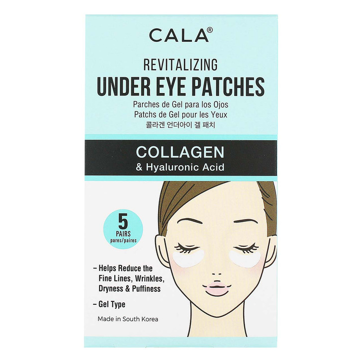 Cala Revitalizing Under Eye Patches - Collagen & Hyaluronic Acid
