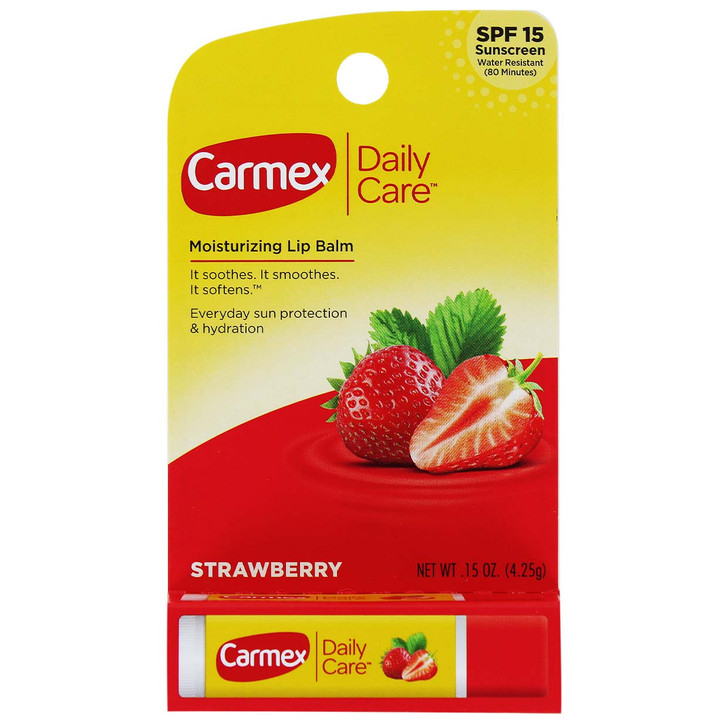 Carmex Lip Balm Stick SPF15 - Strawberry