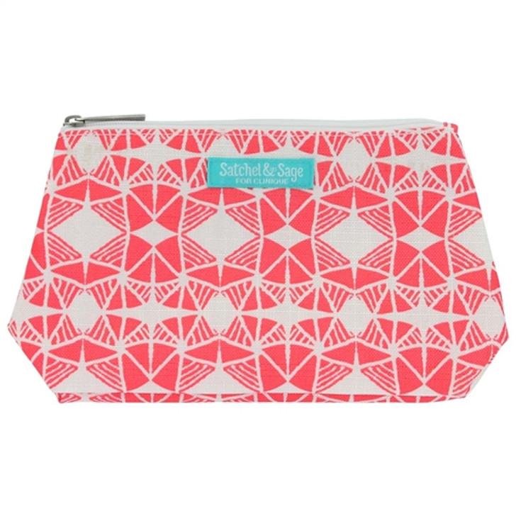 Clinique Satchel & Sage Cosmetic Bag