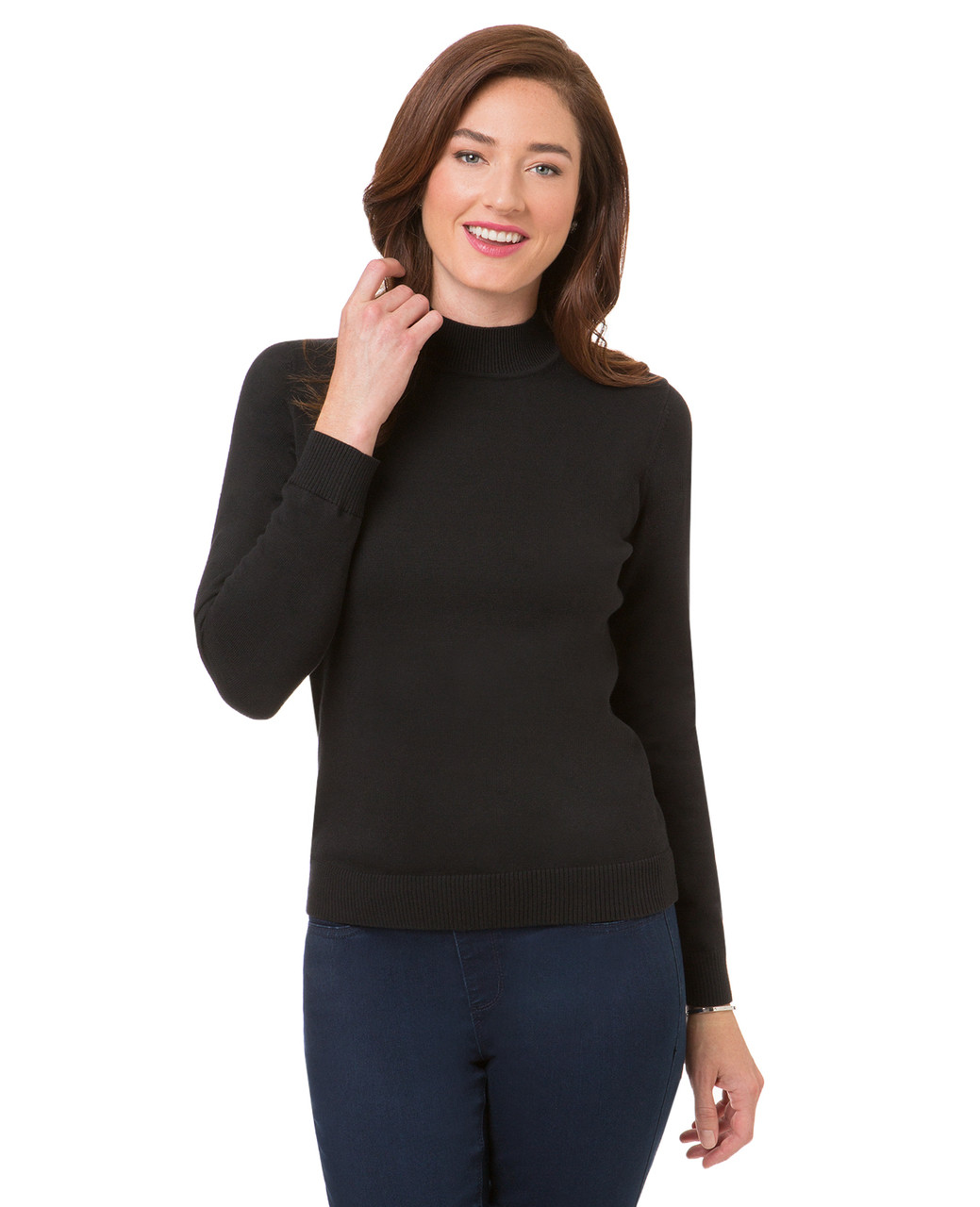 32c0b4113 Everyday Mock Neck Sweater